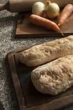 Brot und Gemüse Stockfoto