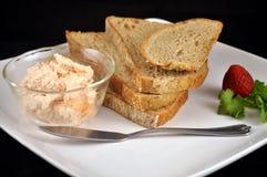 Brot und Pastete Lizenzfreie Stockfotografie