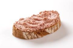 Brot und Pastete lizenzfreie stockbilder