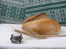Brot und Salz. Stockbild