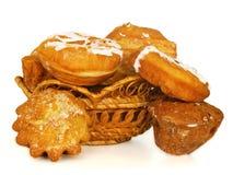 Brot und Schaumgummiringe Stockbilder