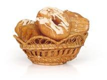 Brot und Schaumgummiringe Lizenzfreie Stockbilder