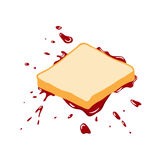 Brot und Stau Lizenzfreies Stockfoto