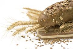 Brot und Weizen Stockfotos