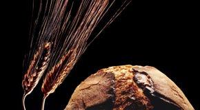 Brot und Weizen Stockfoto