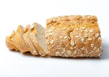 Brot vom Roggen- und Weizenmehl Stockfoto