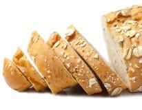 Brot vom Roggen- und Weizenmehl Stockbild