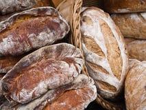 Brot von einem im Freienmarkt in Virginia Stockbild