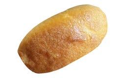 Brotbrötchen lokalisiert auf Weiß stockfotos