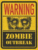 Brote del zombi. Mano dibujada. Vector Eps8 Imagenes de archivo