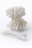 Brotes del algodón de la higiene imagen de archivo libre de regalías