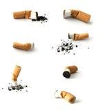 Brotes del cigarrillo Fotos de archivo libres de regalías