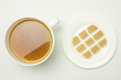 Broth, bouillon, clear soup Stock Images