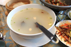 Broth from peking duck Royalty Free Stock Photos