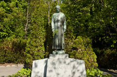Brother Andre Statue at the Oratory - Montreal - Canada. Brother Andre Statue at the Oratory in Montreal - Canada Stock Photography