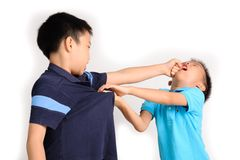 Brother fighting Royalty Free Stock Photography