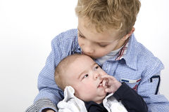 Brother love Stock Photo