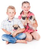 Brother and sister Royalty Free Stock Images