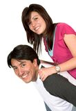 Brother and sister having fun Stock Photography