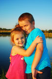 Brother and sister love Royalty Free Stock Image