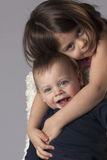 Brother and Sister Portrait Royalty Free Stock Photography