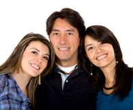 Brother and sisters Royalty Free Stock Images