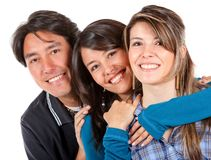 Brother and sisters Stock Images