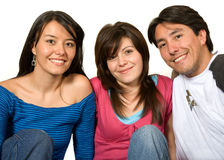 Brother and sisters Royalty Free Stock Image