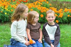 Brother and sisters Royalty Free Stock Photography