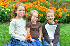 Brother and sisters Royalty Free Stock Photos