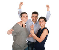 Brother and sisters having fun Stock Photos