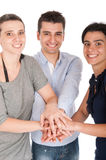 Brother and sisters union Royalty Free Stock Image