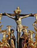 Brotherhood of Christ's love. Córdoba Easter Sunday royalty free stock photo