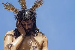Brotherhood dinner, Easter in Seville Jesus of Humility and patience Stock Photo