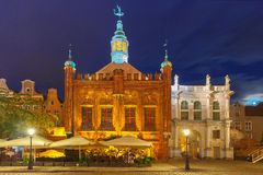 Brotherhood of St George and Golden Gate, Gdansk Royalty Free Stock Photo