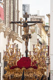 Brotherhood of ye Holy Week in Seville Royalty Free Stock Image