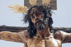 Brotherhood of ye Holy Week in Seville Royalty Free Stock Photo