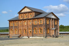 Brotherly case  of the Sacred and Troitsk Trifonov-Pechengsky maman's monastery Royalty Free Stock Photo