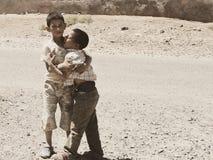 Brothers' miłość Zdjęcia Royalty Free