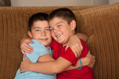 Brothers Stock Image