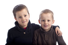 Brothers Royalty Free Stock Images