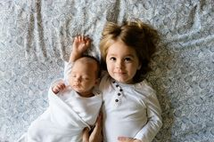 Brothers, Family, Siblings, Boys Royalty Free Stock Images