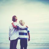 Brothers, Friendship Concept Royalty Free Stock Photography