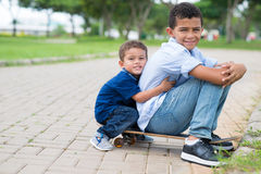 Brothers� friendship Royalty Free Stock Photography