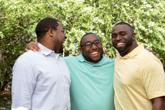 Brothers. Hanging out talking and laughing Stock Photos