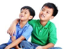 Brothers Having Fun Royalty Free Stock Photos