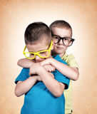 Brothers love Stock Photography
