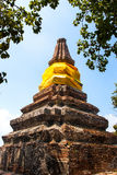 Brothers pagoda on the top of mountain Stock Photography