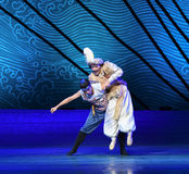 """The brothers play-Dance drama """"The Dream of Maritime Silk Road"""". Dance drama """"The Dream of Maritime Silk Road"""" centers on the plot of two generations of Stock Image"""