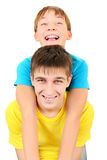 Brothers Portrait Stock Images